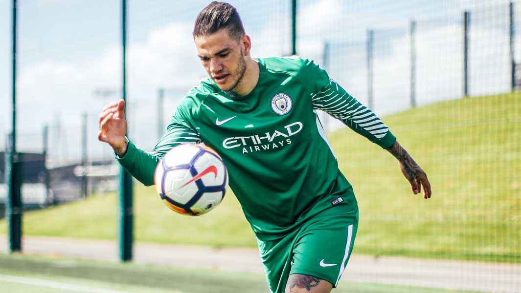 Manchester City goalkeeper Ederson set a new record for the farthest drop kick