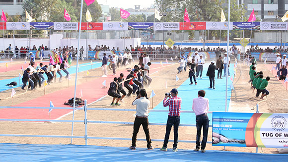 Largest tug of war tournament - venue