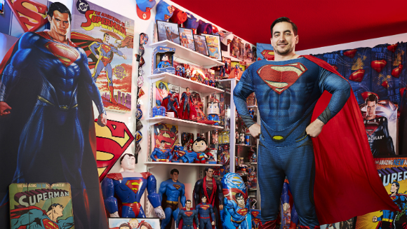 Largest collection of superman memorabilia 5