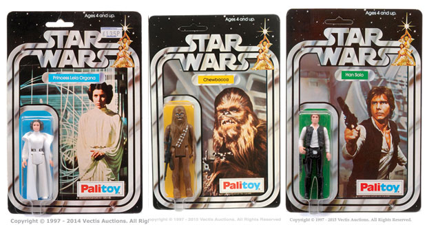 Most expensive Star Wars figurines