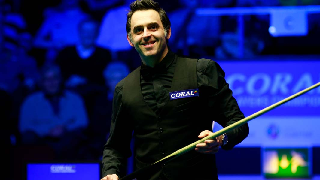 Ronnie O'Sullivan has the most competitive century snooker breaks
