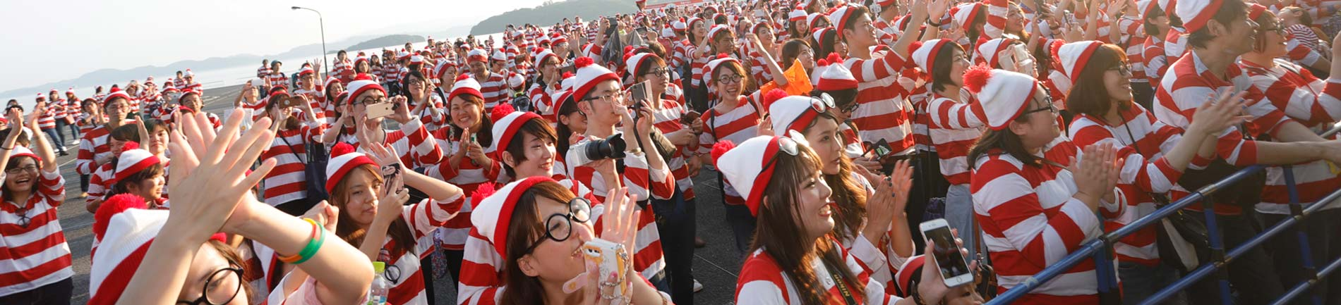 World Record Gathering Of Where's Wally/Waldu To Promote Community Engagement