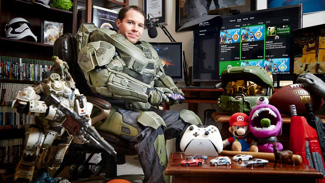 Ray Cox has the Guinness World Records title for the highest Xbox Gamerscore