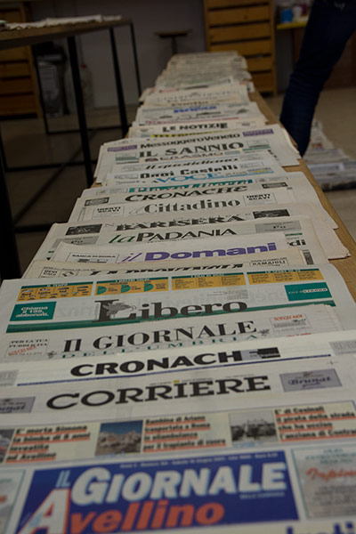 Largest newspaper title collection