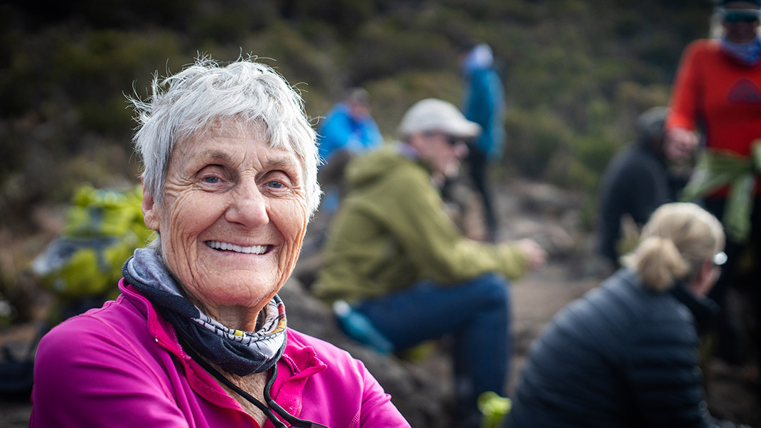 oldest woman to climb mount kilimanjaro