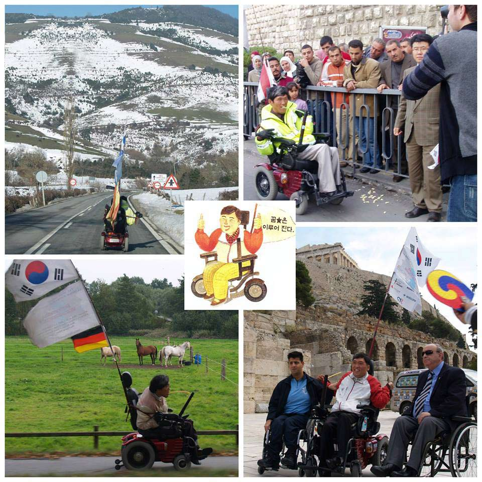 choi around the world collage mouth controlled wheelchair