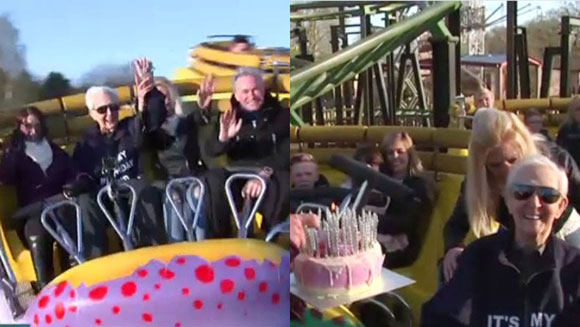 oldest person to ride a non-inversion roller coaster thumbnail