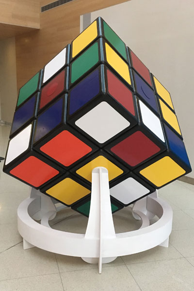 Largest Rubik's cube in the world