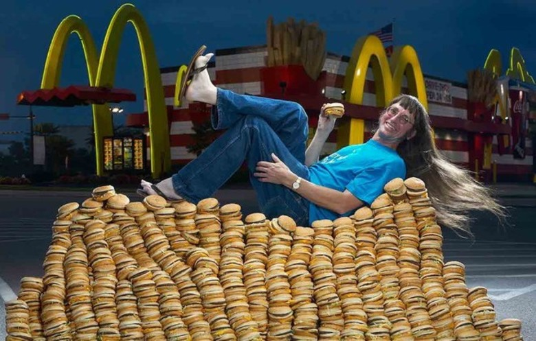 Most Big Mac® burgers eaten in a life time